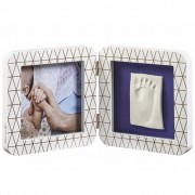Baby Art My Baby Touch Single Print Frame White 3601092400