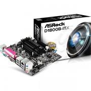 TARJETA MADRE ASROCK D1800B-ITX 2xSODIMM HDMI COM LPT BAYTRAIL CAJA