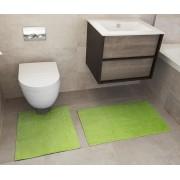 Rapport Home Sada předložka do koupelny a WC předložka Reversible Verica Lime