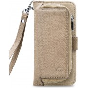 Mobilize 2in1 Gelly Wallet Zipper Case Samsung Galaxy A70 Latte