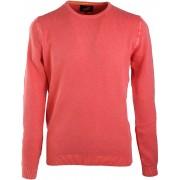 Suitable Pullover Rundhals Koralle - Rot XXL