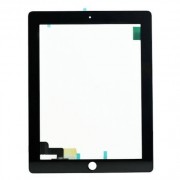 Compatibile Apple A - Vetro touch per iPad 2 - Nero (Grado A)