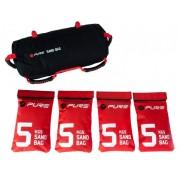 Fitness power bag Pure2Improve 20 kg na punjenje