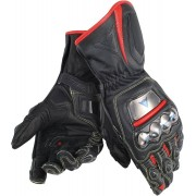 Dainese Full Metal D1 Motorcycle Gloves Black Red 2XL