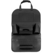 Aventure PU Car Back Seat Multi Pocket Storage Organizer Holder (Black)(Black)