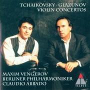 Vengerov - Tchaikovsky / Glazunov: Violin Concertos (Violin Konzerte op.35 / op.82) - Preis vom 25.10.2020 05:48:23 h