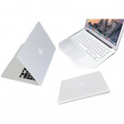 Case Carcasa + Protector De Teclado / Puertos Para Macbook Air 13'' Model (A1369/A1466) -Blanco
