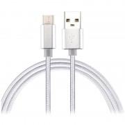 Cabo USB-C Saii para Carregamento / Sincronização - 1m - Branco