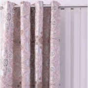 Set 2 draperii, imprimeu floral, DRP1945