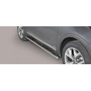 TUBES MARCHE PIEDS OVALE INOX KIA SORENTO 2015- - accessoires 4x4 MISUTONIDA