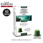 10 capsule cafea Corsini Brasil Santos 5.2g