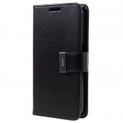 Capa Mercury Goospery Rich Diary para Samsung Galaxy S7 - Tipo Carteira - Preto