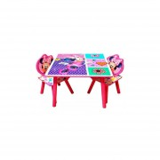 Set De Mesa + 2 Sillas Disney Minnie-Multicolor