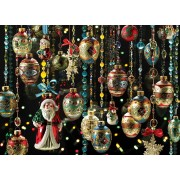 Puzzle Cobble Hill - Christmas Ornaments, 1.000 piese (58267)