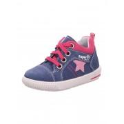 SUPERFIT Schuhe 'MOPPY' blau / rosa 20,21,22,23,24,25