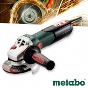 Metabo Haakse Slijper 125mm W 12-125 Quick Limited Edition met Quick Wisselsysteem