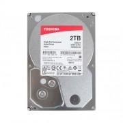 HDD 2TB TOSHIBA HDWD120UZSVA, P300 series, 64MB, 7200 rpm, SATA 3