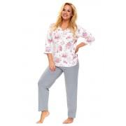 Pijama de damă Timea floral XXL