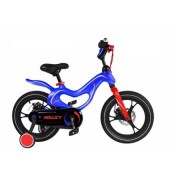 Bicicleta de copii 16 mh Magnesium Hollicy albastra