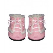 "Pink Furry Boots Teddy Bear Clothes Fits Most 14"" - 18"" Build-a-bear, Vermont Teddy Bears, and Make"