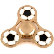 Metal Football Hand Spin With Long Spin Bearing.
