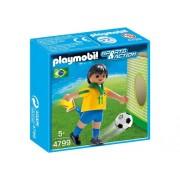 PLAYMOBIL Brazil Player Soccer Toy