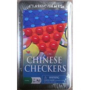 Cardinal Classics Chinese Checkers Tin Game