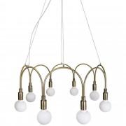 Globen Lighting Pendel Arch Borstad Mässing