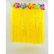 Havajská sukně - žlutá