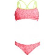 Funkita Criss Cross Bikini pink 164 US 28 2019 Badkläder
