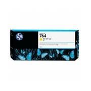 CARTUCHO DE TINTA P/PLOTTER HP 764 AMARILLO 300 ML C1Q15A