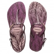 Havaianas Freedom SL Print Sandals Pearl Pink Size 3-4