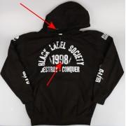 mikina pánská Black Label Society - PLASTIC HEAD - POŠKOZENÁ - MA150