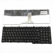 Клавиатура за Toshiba Satellite L500/L550/L550D/L555/L555D/L350/L355/L350D/P300, US/UI, кирилица, черна