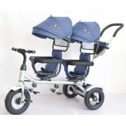 Tricikl za blizance Playtime TWINS (Model 4121 plavi)