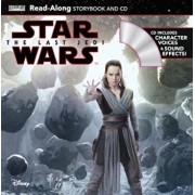 Star Wars: The Last Jedi Star Wars: The Last Jedi Read-Along Storybook & CD 'With Audio CD', Paperback/Elizabeth Schaefer