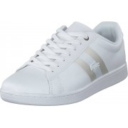Lacoste Carnaby Evo 119 5 Sma Wht/wht, Skor, Sneakers & Sportskor, Låga sneakers, Vit, Herr, 42