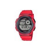 Relógio Casio Masculino Ae1000w4avdf Vermelho