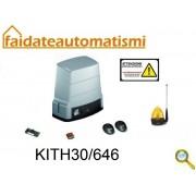 KIT AUTOMAZIONE CANCELLO SCORREVOLE 230V max 600kg KITH30/646 roger technology