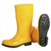 S5 Sicherheitsstiefel SAFETY gelb, 1 Paar Größe 47