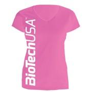 BioTechUSA nõi póló, Pink