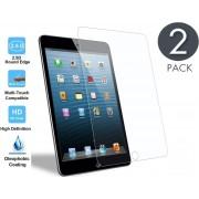 2x Apple iPad Mini 1 / 2 / 3 - Tempered Glass / Glazen Screen protector - Screenprotector Transparant 2.5D 9H Gehard Glas