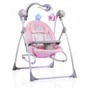 Бебешка люлка Cangaroo Swing Star, Розов, 0+