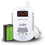 Detektor hořlavých a výbušných plynů SAFE-808L + záložní nabíjecí baterie GP