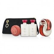 Omnia Coral Coffret: Eau De Toilette Spray 65ml/2.2oz + Body Lotion 40ml/1.3oz + Shower gel 40ml/1.3oz+Soap 50g/1.7oz + Pouch 4pcs+pouch Omnia Coral Set: Apă de Toaletă Spray 65ml/2.2oz + Loțiune de Corp 40ml/1.3oz + Gel de Duș 40ml/1.3oz+Săpun