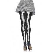 Vegaoo.es Pantys esqueleto con curvas mujer Halloween
