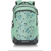 Fastrack A0748NGR01 21 L Laptop Backpack(Green)