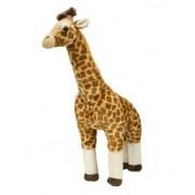 Large Standing Plush Giraffe - Lifelike Stuffed Giraffe Animal Toy - Play Kreative Tm