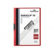 Durable Klämmapp A4 Durable 2200 röd 25st/fp