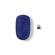 MOUSE NEDIS MSWS500BU WIRELESS 1600 DPI CON 3 TASTI + ROTELLA SCORRIMENTO BLU